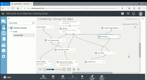 Machine Learning Studio with GUI from Microsoft